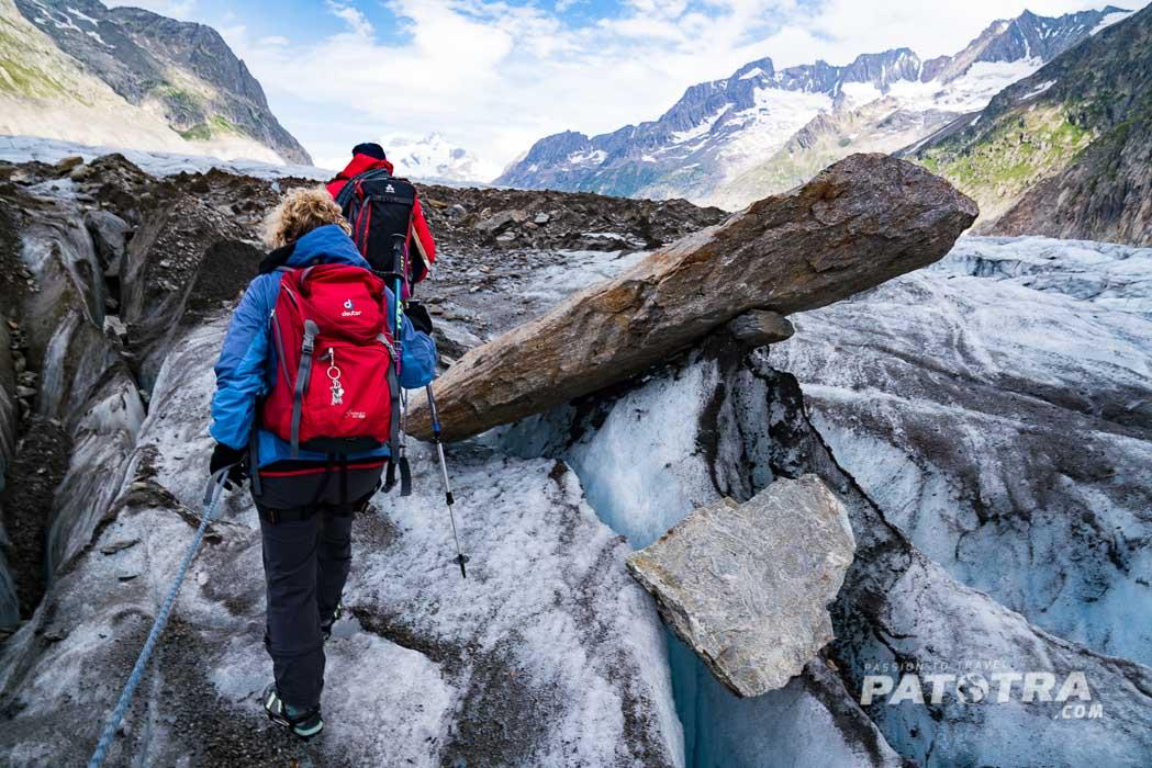 Gletschertour Aletschgletscher