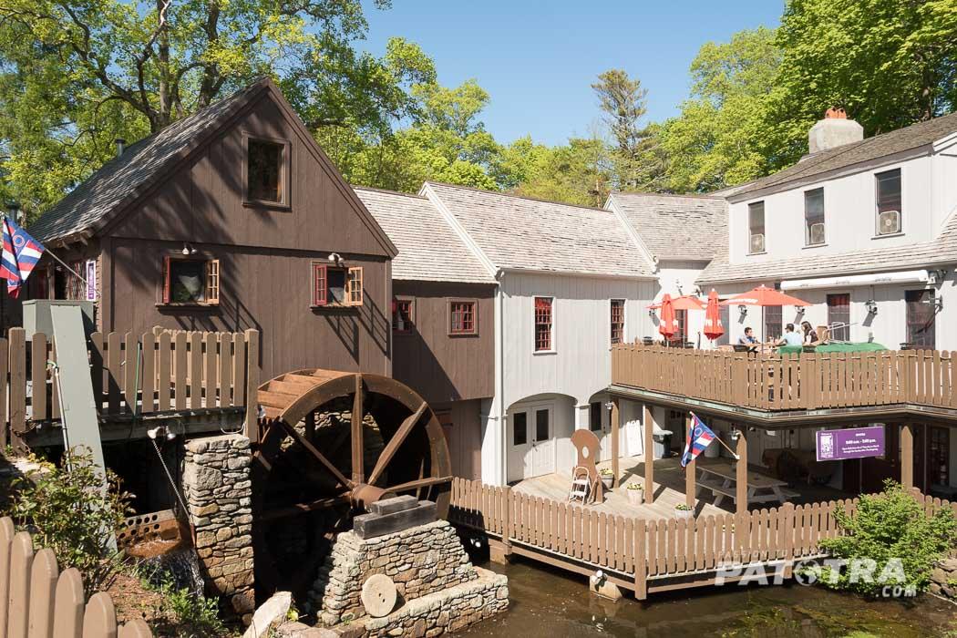 historische Mühle Plimouth