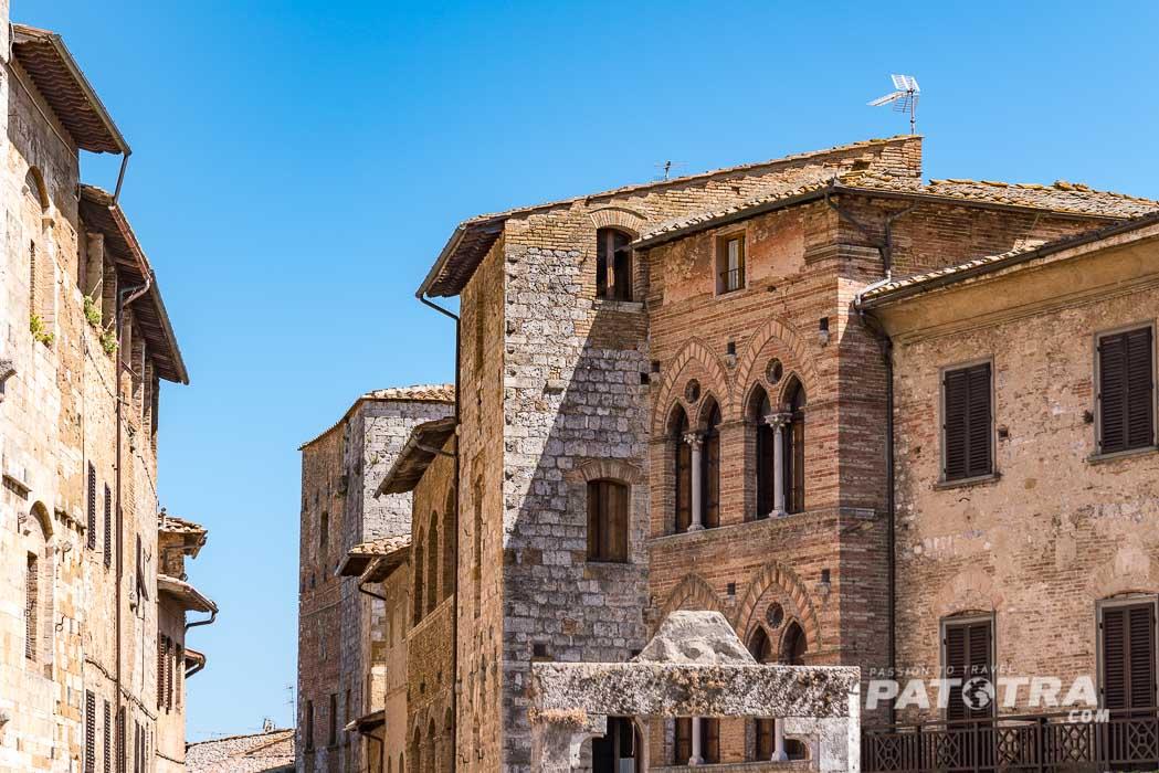 Fassaden San Gimignano