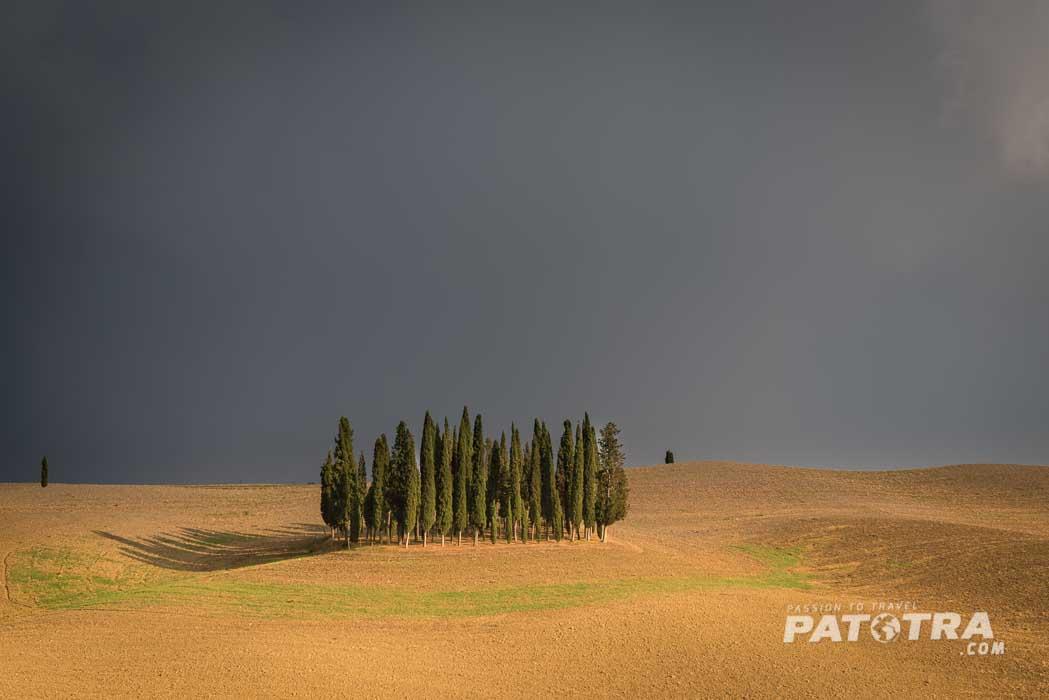 Gewitterstimmung in der Toskana