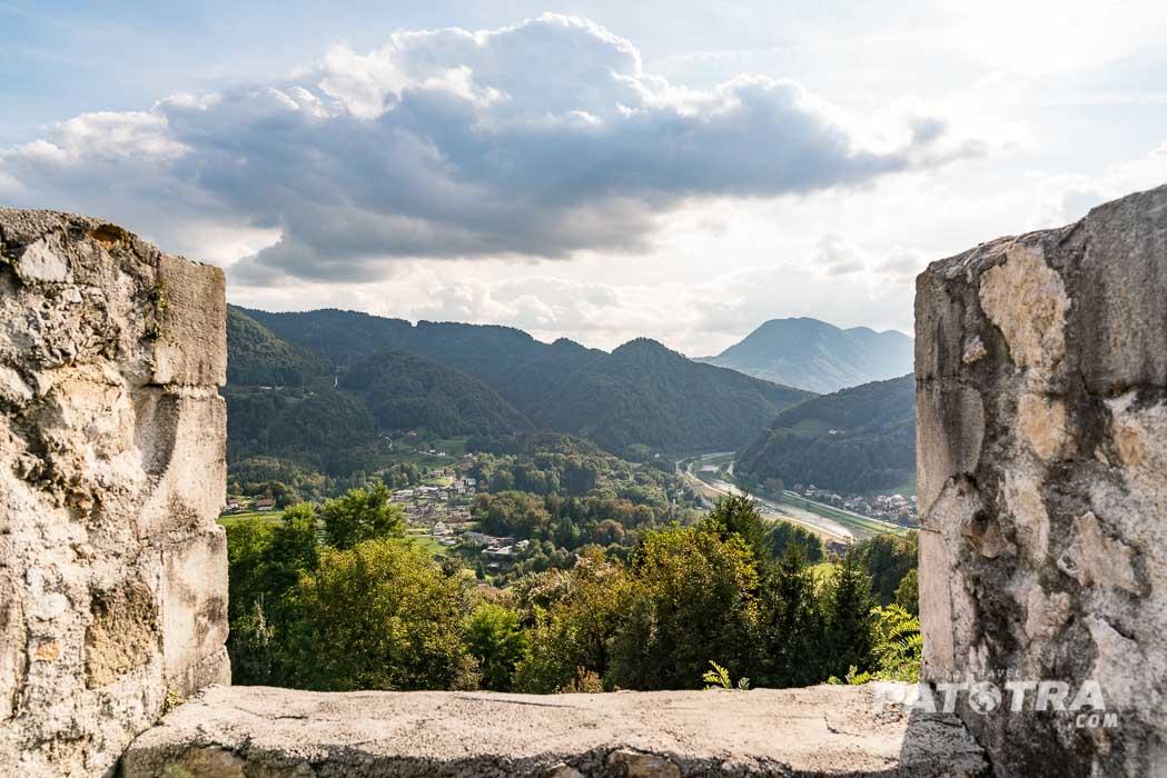 Aussicht Burg Celje