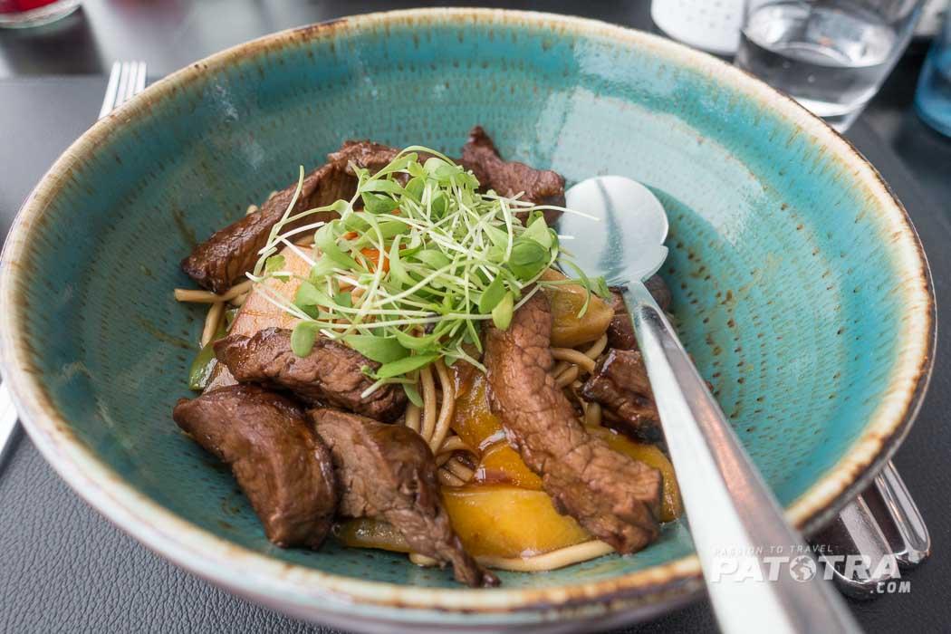 Kulinarik im Restaurant Cube