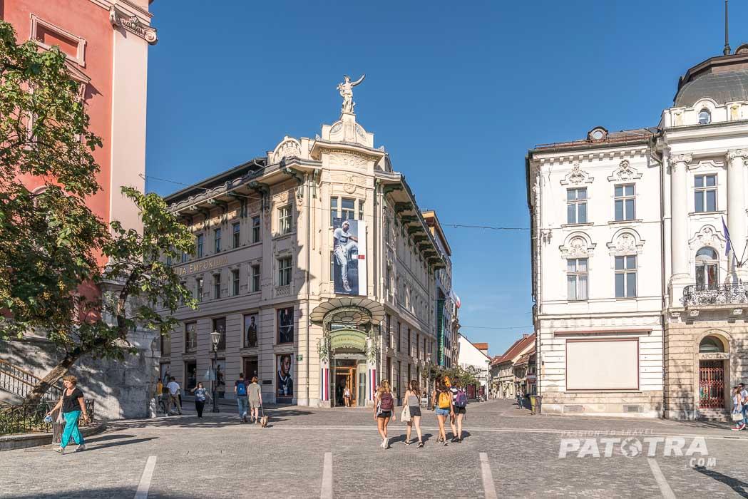 Citylife in Ljubljana