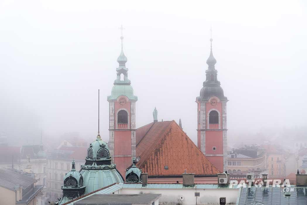 Nebel Ljubljana