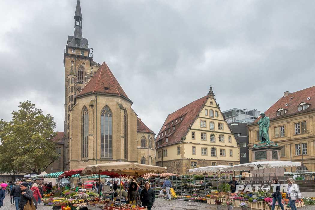 Wochenmarkt in Stuttgart