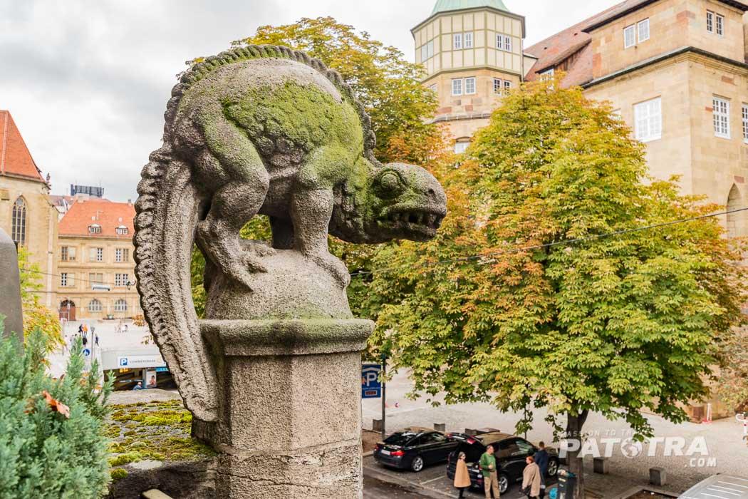 Markthalle Skulptur