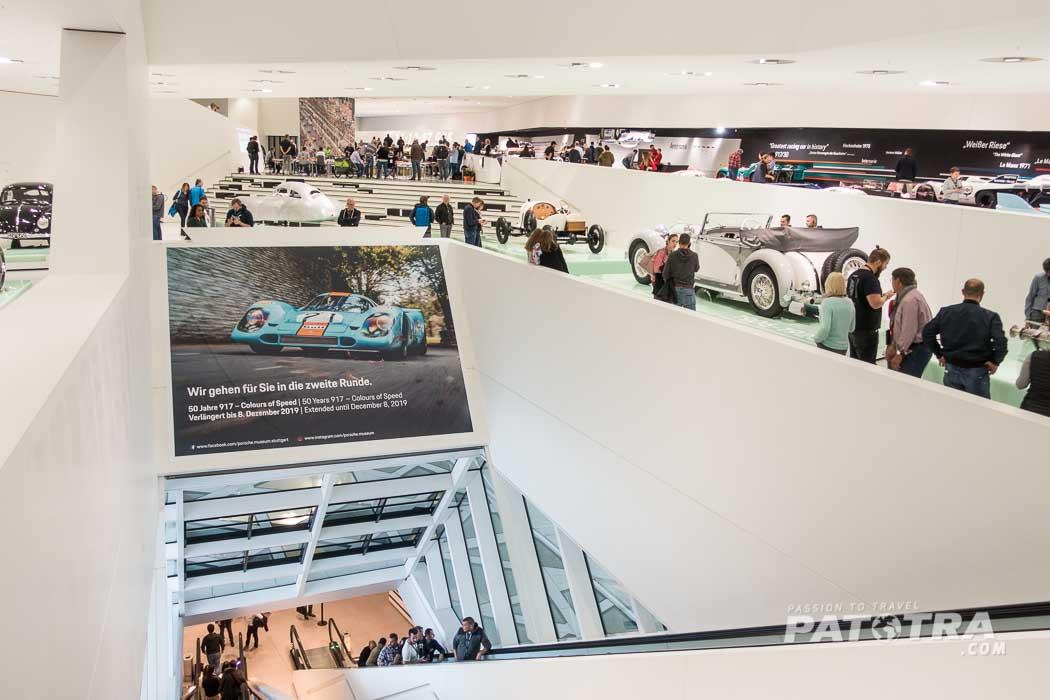 Porschemuseum Architektur