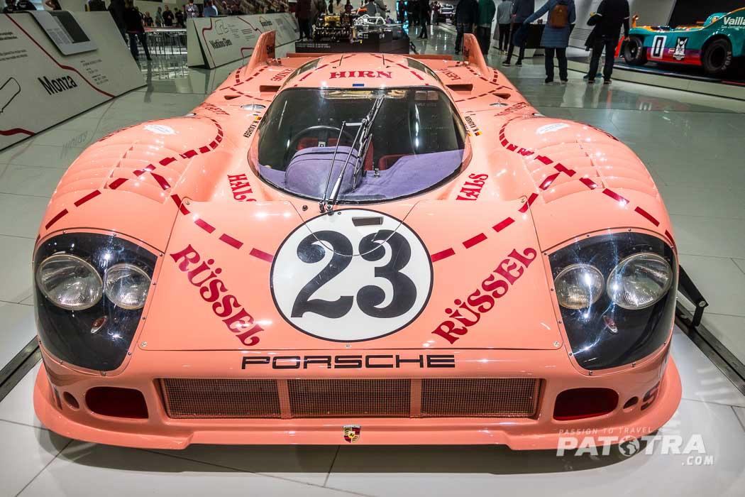 Porsche 917 als Schwein