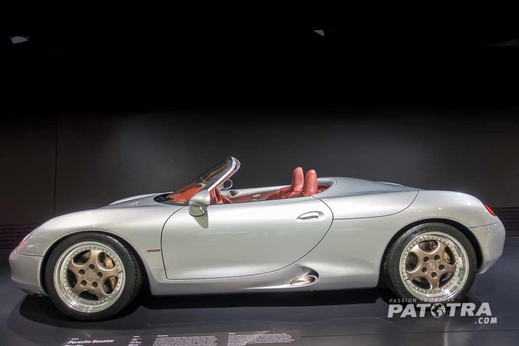 Porsche Boxter Studie im Porsche Museum