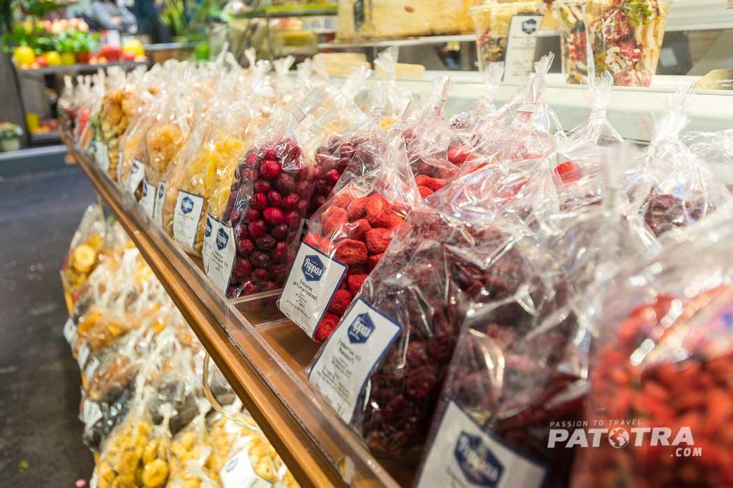 Markt Früchte