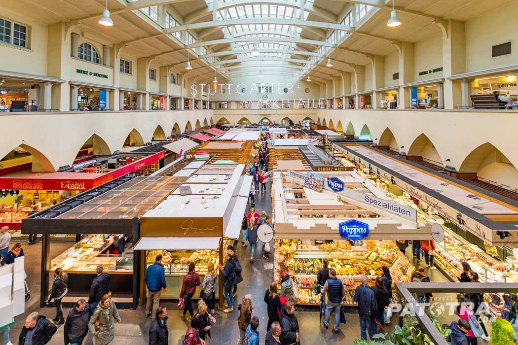 Die Stuttgarter Markthalle