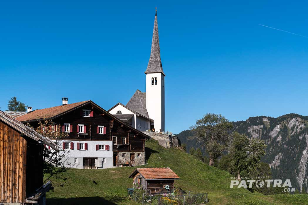Die Kirche von Tenna