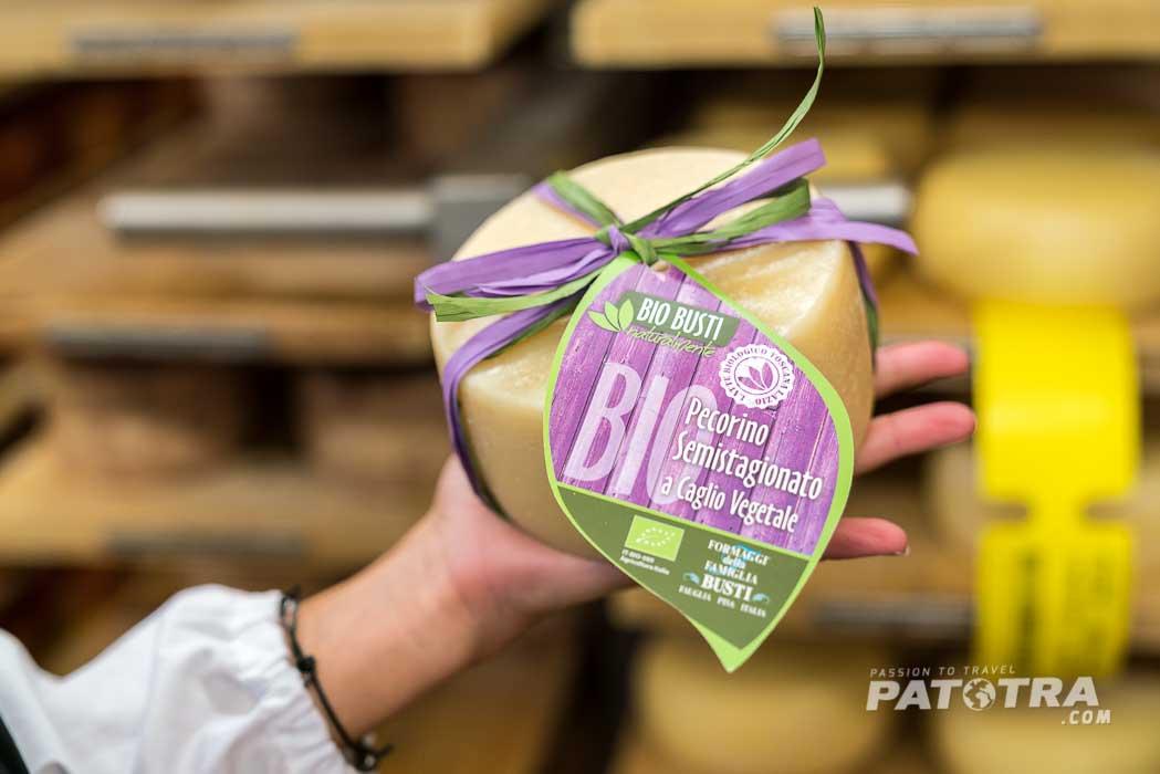 Bio Käse von der Käserei Busti