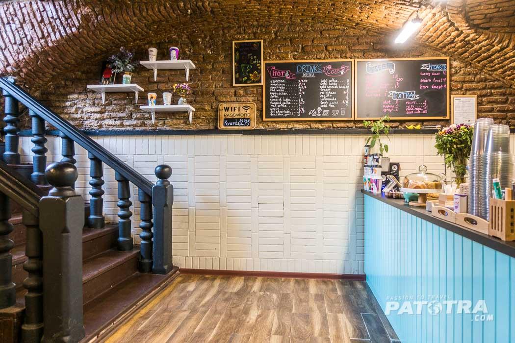 Im Café Kvarts