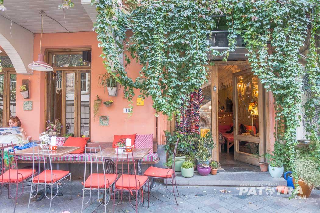 Das Café Leila