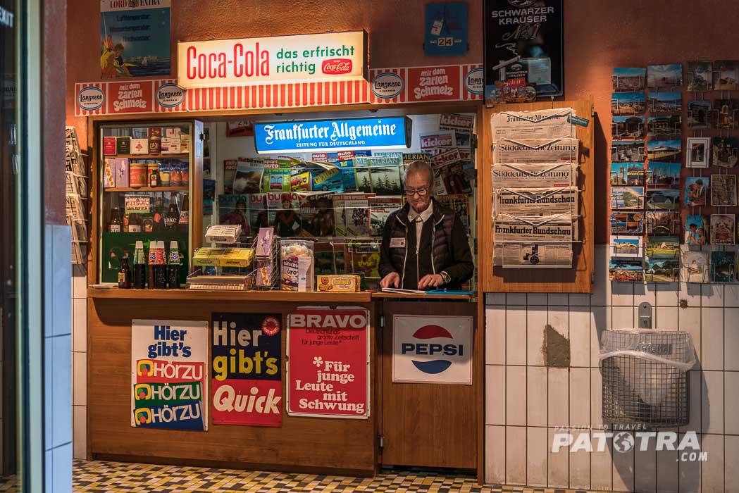 Kiosk aus vergangenen Zeiten
