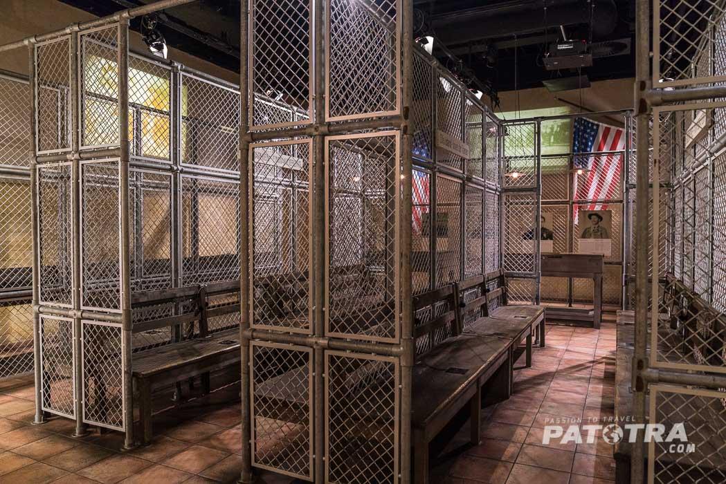 Nachbau von Ellis Island
