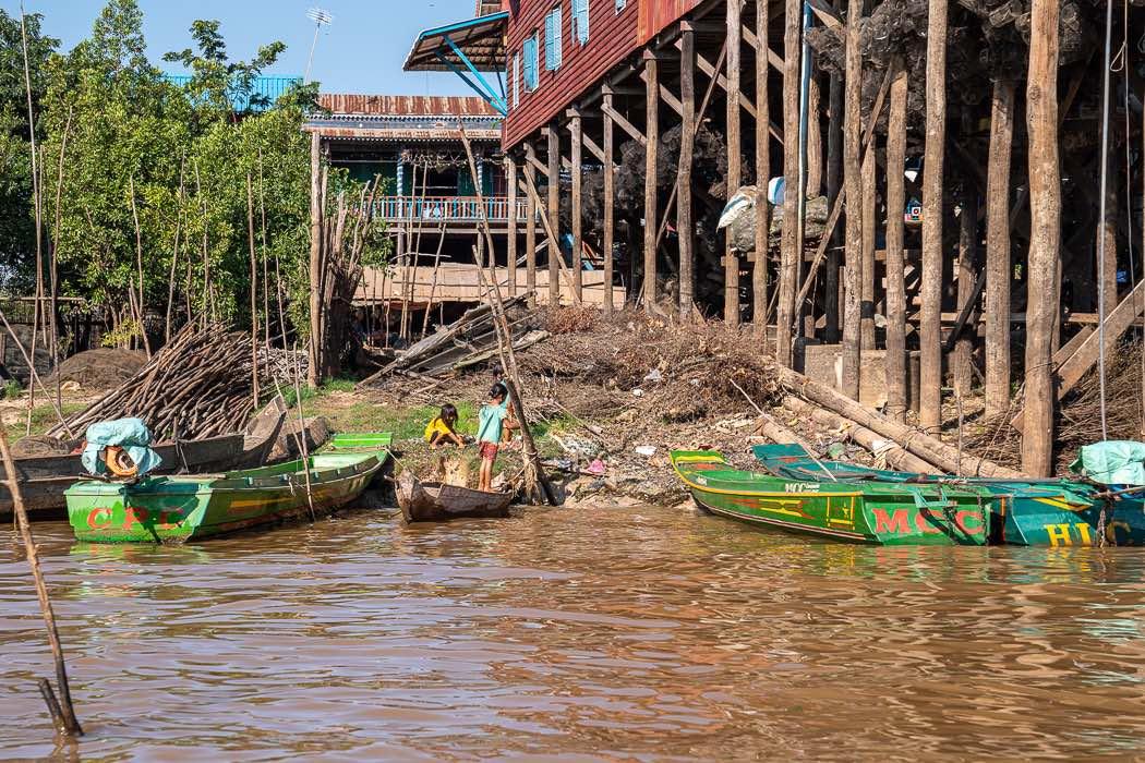 Schwimmendes Dorf Kambodscha