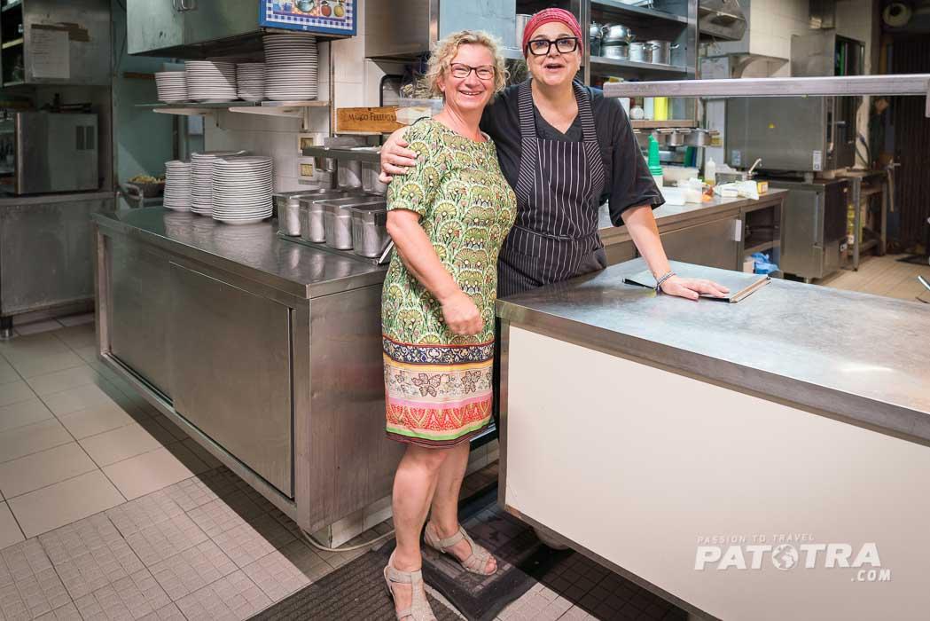 Paola und Patotra (aka Ellen)