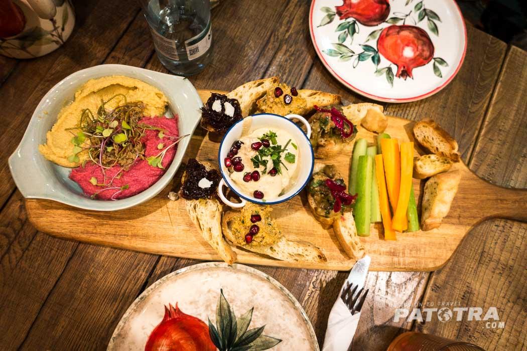Essen im Restaurant g.Vino