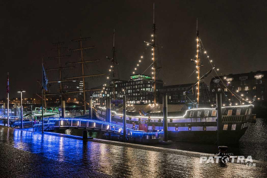 Schiffe auf der Weser