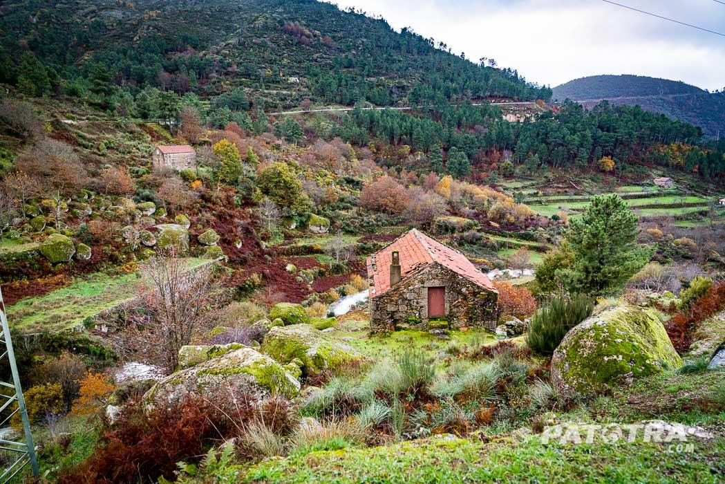 Die Landschaft im Estrele Gebirge