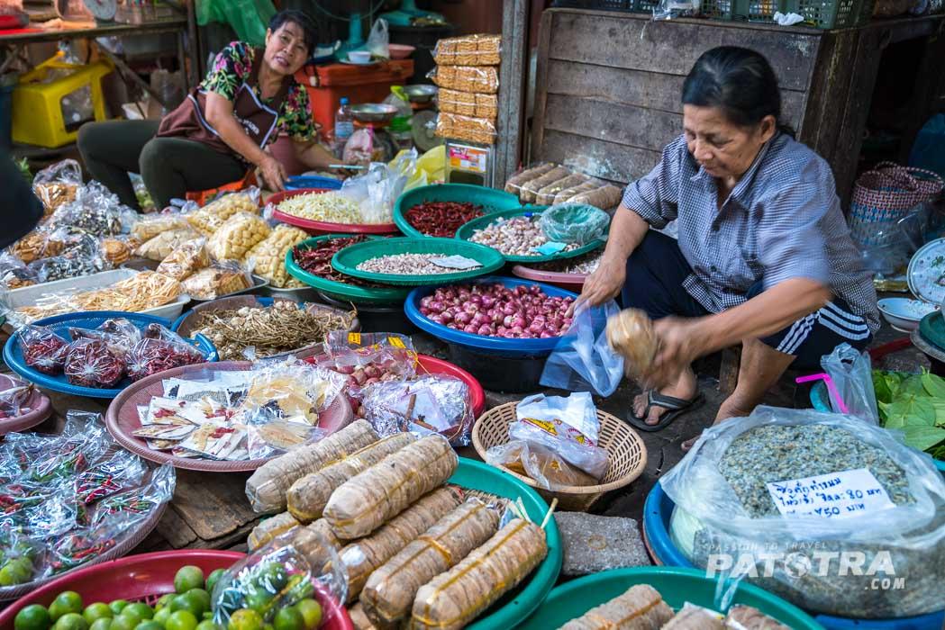 Maeklong Markt