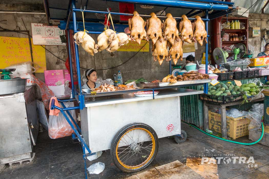 Markt Thailand Maha Chai