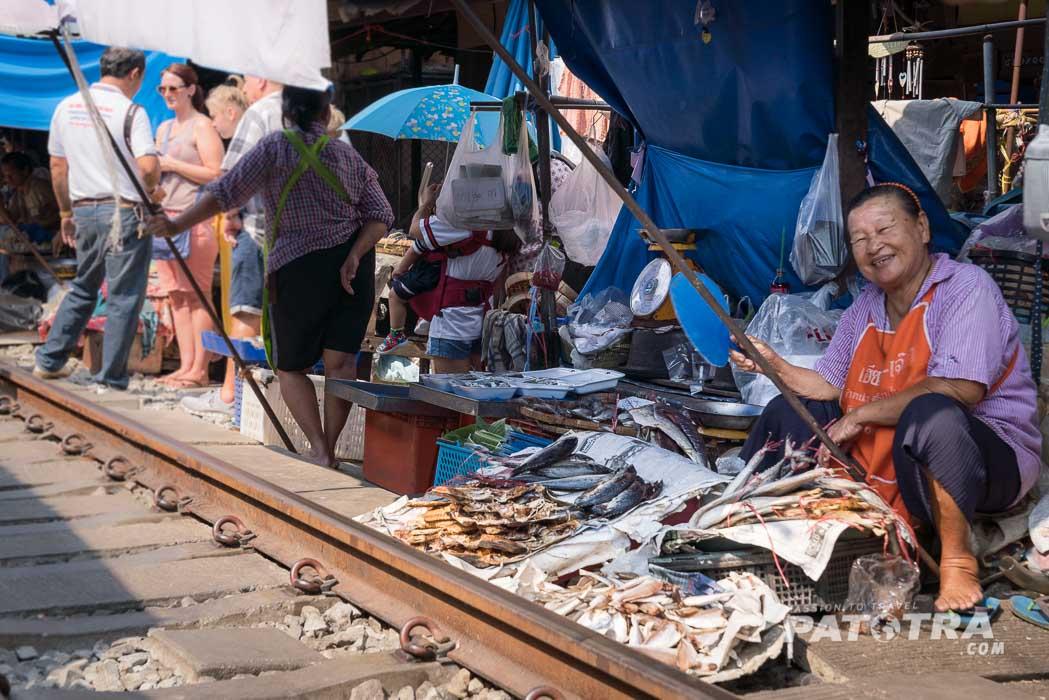 Marktstand Zug Thailand