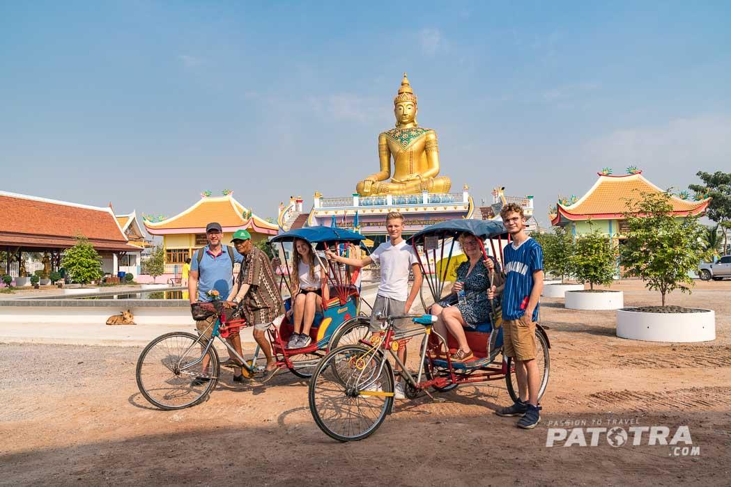 Rikschafahrt Thailand