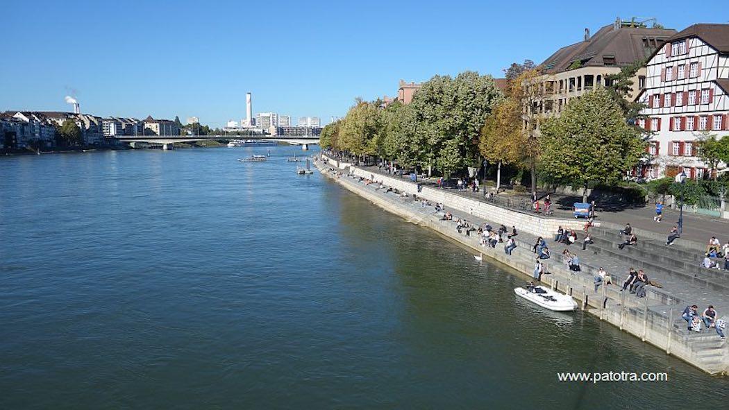 Basel Rheinufer Nord