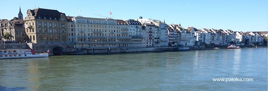 Basel Rheinufer Süd