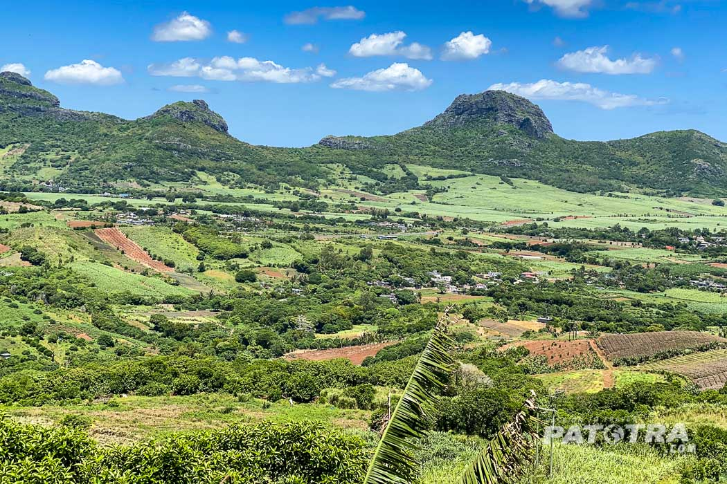 Berge auf Mauritius
