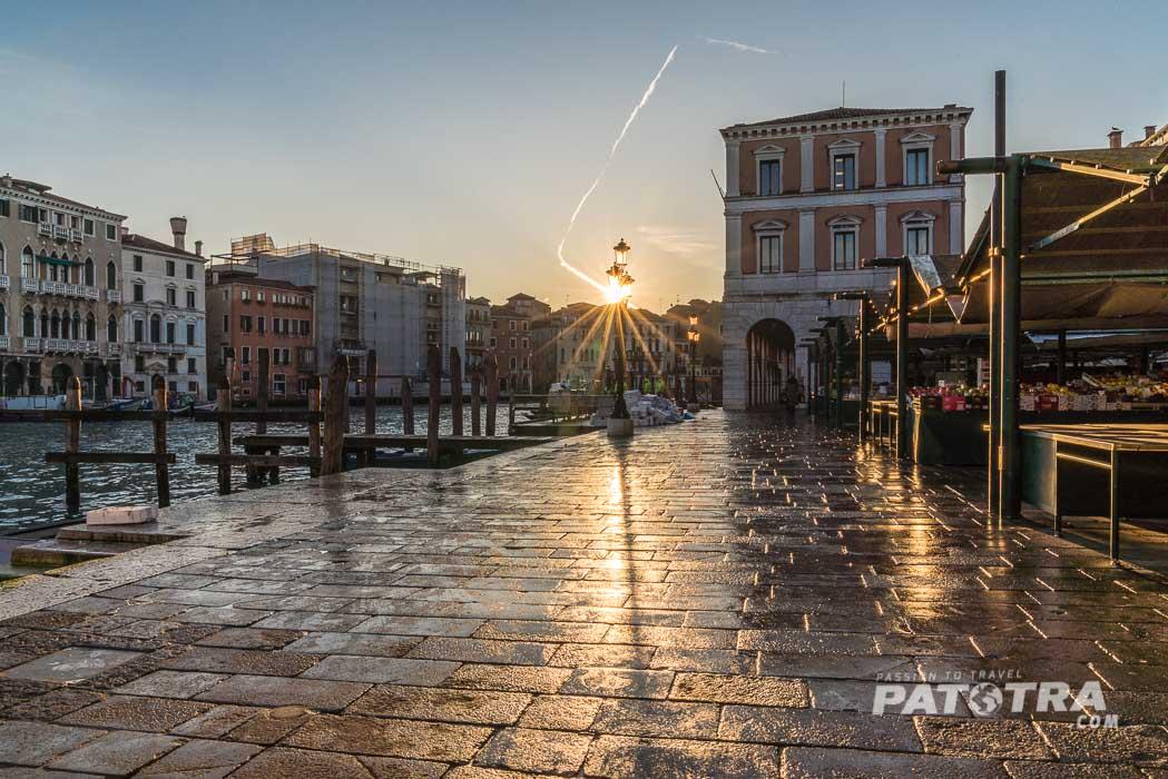 Sonnenaufgang über Venedig