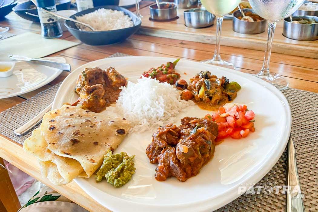 Essen auf Mauritius