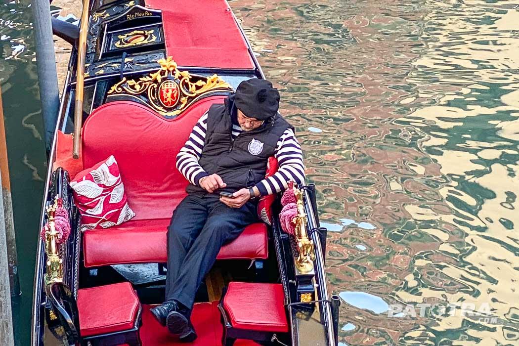 Venedig warten auf Touristen
