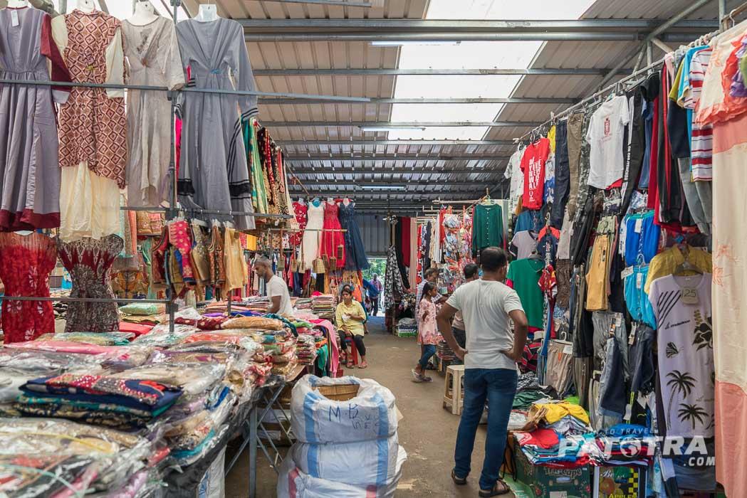 Textilmarkt Quatre Bornes
