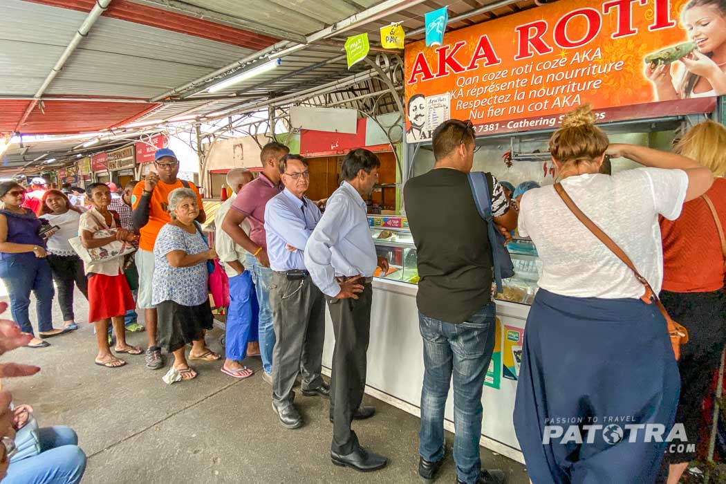 Roti Stand Port Louis