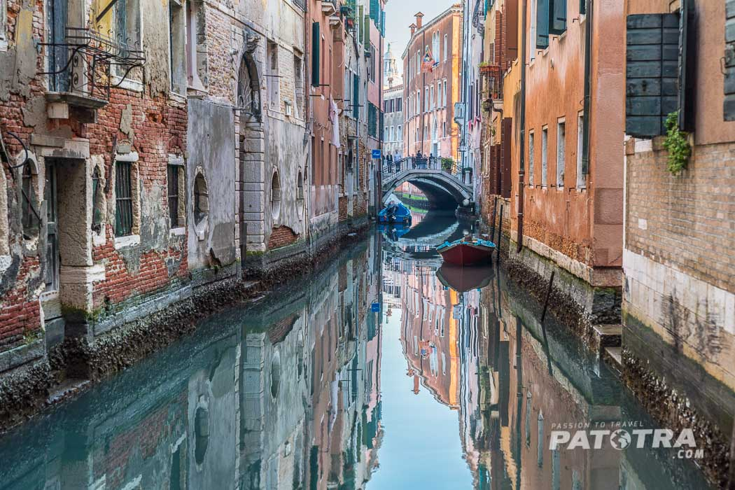 Spiegelungen Venedig