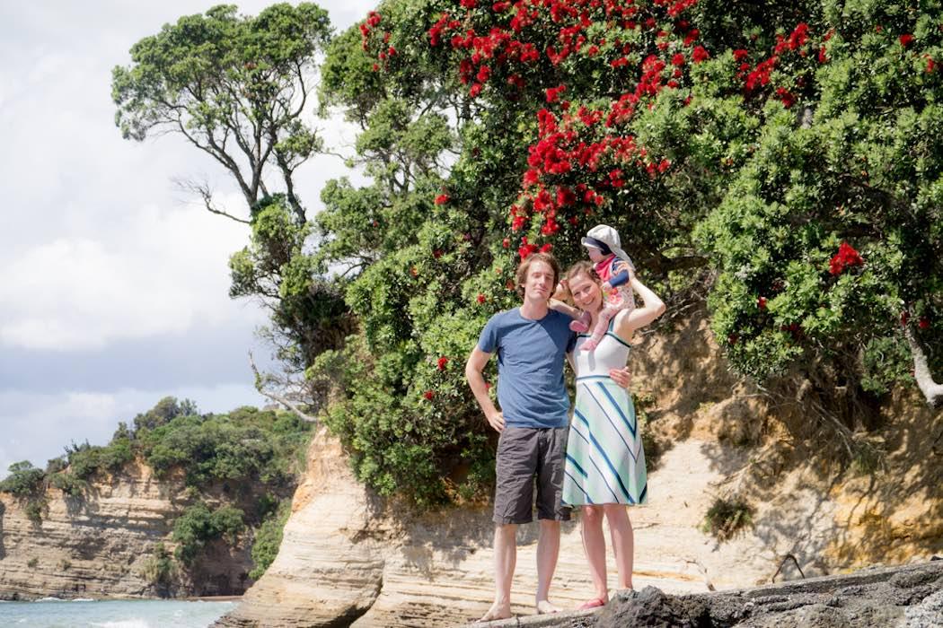 Weihnachten-in-NZ-unter-Pohutukawas