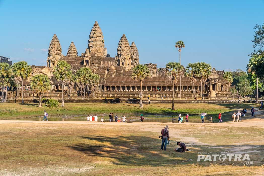 Angkor Wat im Abendlicht
