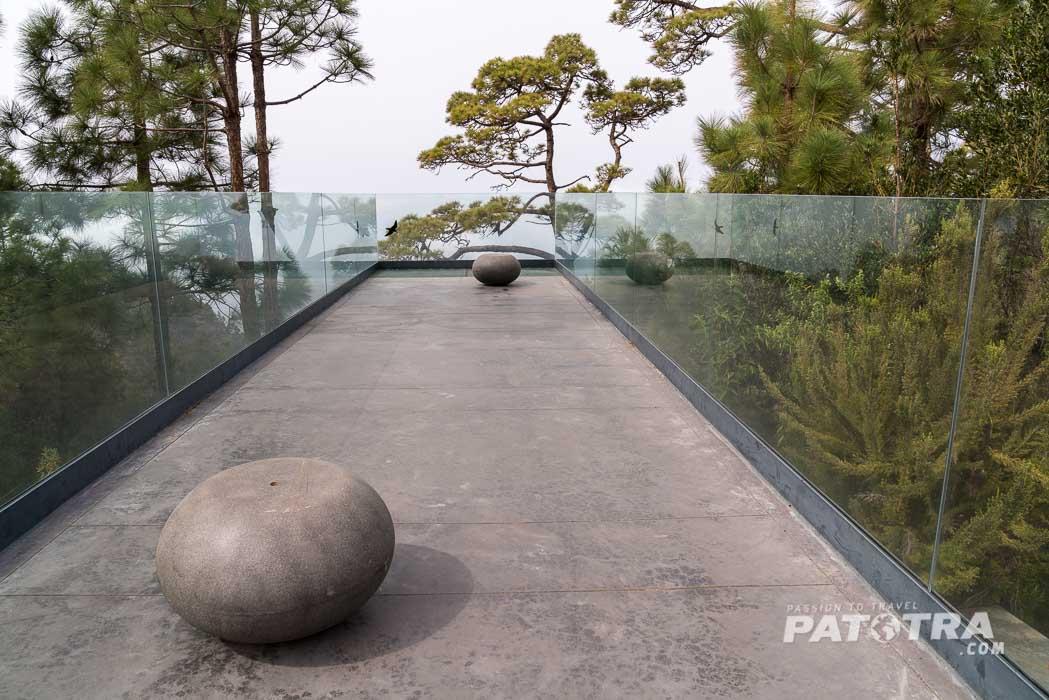 Die Aussichtsplattform in Punta Gorda