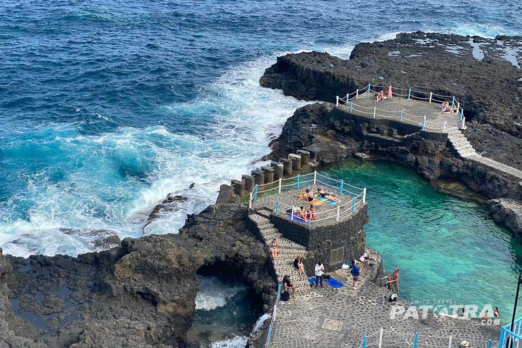 Baden im Meer La Palma