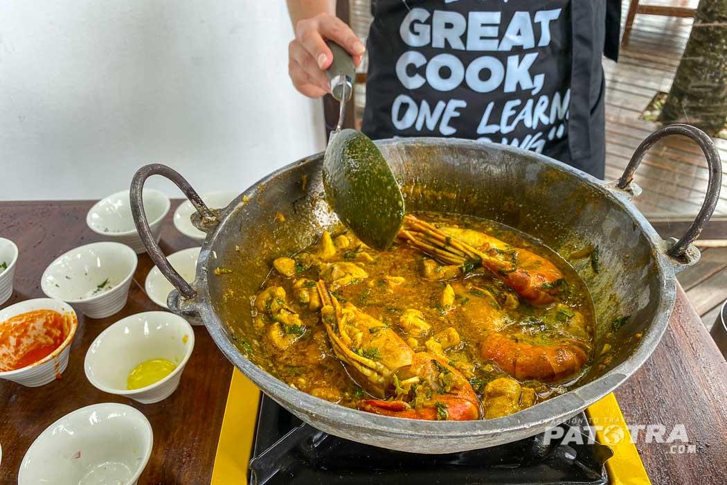 Chicken Curry auf Mauritius