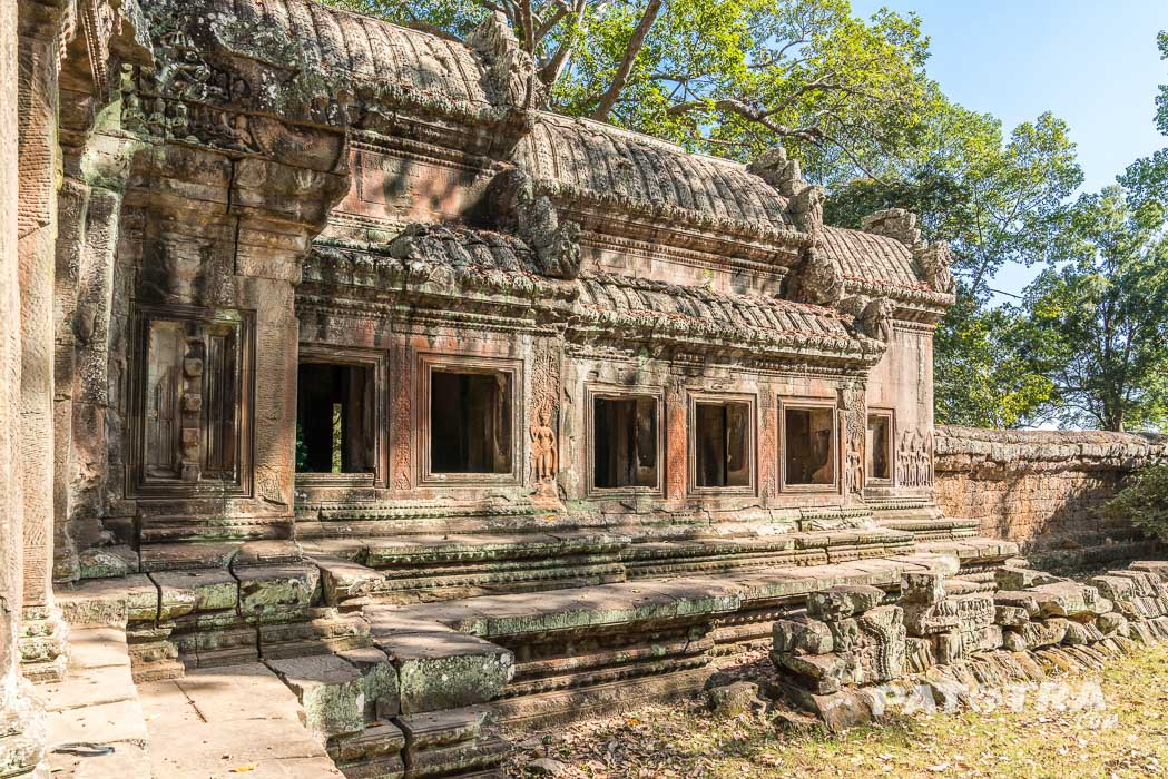 Tempel ohne Touristen in Angkor