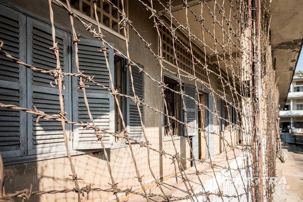 Im Foltergefägnis in Phnom Penh