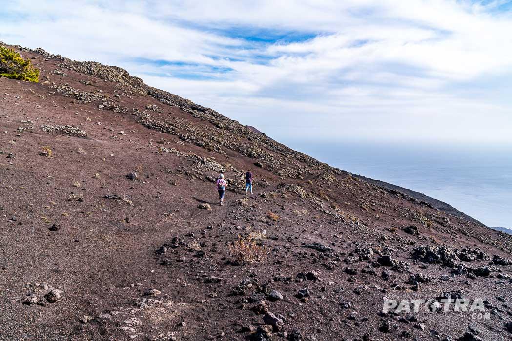 Wanderung durch die Vulkanlandschaft
