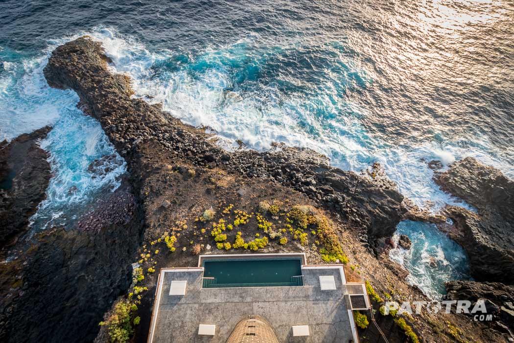 Ausblick Leuchtturm La Palma