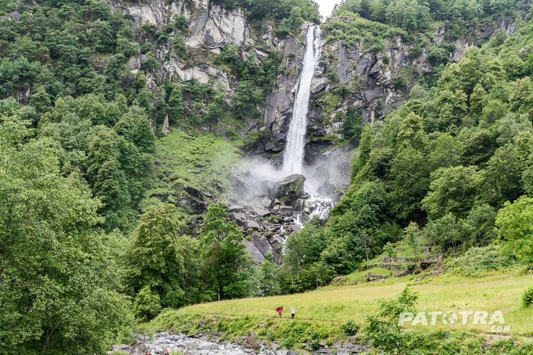 Der Wasserfall Foroglio