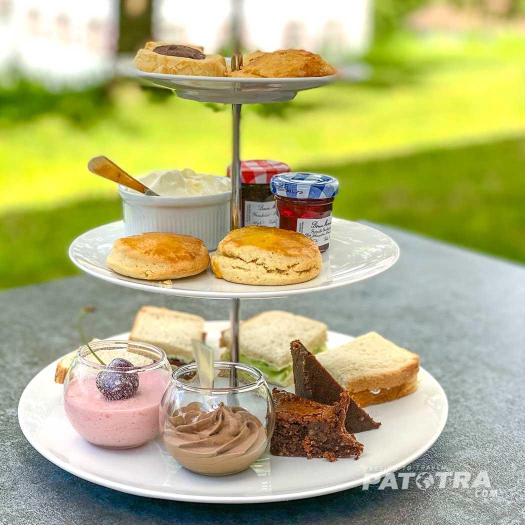 Etagere zum Afternoon Tea